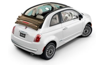 Rent Fiat 500 cabrio or similar