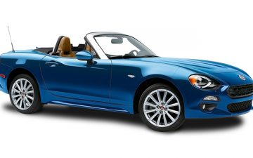 Rent Fiat 124 Spider or similar