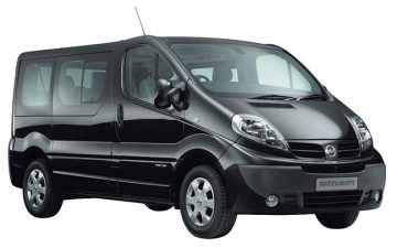Rent Nissan Primastar XL 9 Seats or similar
