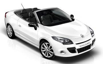 Rent Renault Megane Cabrio