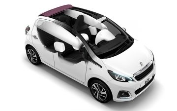 Rent Peugeot 108 Open or similar